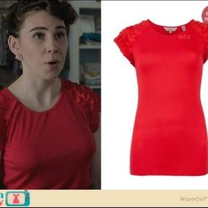 Ted Baker   Red Anissa Top